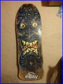 Og 1986 Rob Roskopp Santa Cruz Face Vintage Skateboard