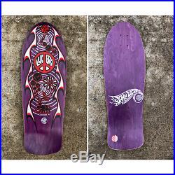 Old School NOS Lucero Street Thing Skateboard Deck MFG by Santa Cruz VINTAGE