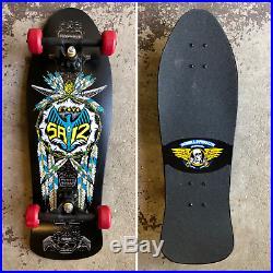 Old School NOS Powell Peralta Steve Saiz Totem Feathers Skateboard VINTAGE
