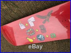 Old School NOS Powell Peralta Tony Hawk Pictograph Skateboard Deck VINTAGE