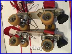 Old School Rare 70's Tracker Skateboard Trucks Trekker Roller Skates withOJ II WHL