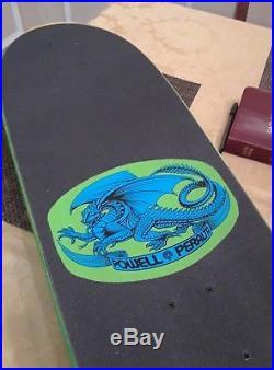 Old school skateboard Sword & Skull Powell Peralta Independent trucks