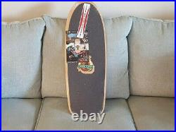 Old school skateboard deck G & S Pine Design II Blue in Wrapping