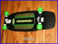 Oldschool Skateboard vintage Sims Andrecht clone wallhanger complete