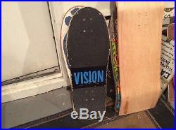 Original 1984 Vision Mark Gator Rogowski Vintage Skateboard