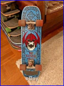 Original 1986 RARE Complete Powell Peralta Per Welinder Freestyle Skateboard