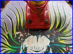 Original 1986 Sims Staab Mad Scientist Complete Skateboard Gull Wing Pro Powell