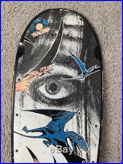 Original 1987 Tracker GSD Pterodactyl Skateboard Deck Powell Peralta Santa Cruz