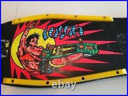 Original 80's Vintage Hosoi Rocket Air Hammerhead Skateboard Deck Rare Black
