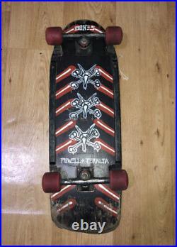 Original Complete Vintage 1984 Powell Peralta Vato Rat Bones Skateboard 1980s