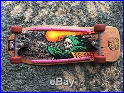 Original Corey OBrien Santa Cruz Skateboard from 1988 in excellent condition