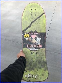 Original Old School Sims Kevin Staab Skateboard Vintage Pirate Deck