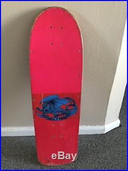 Original Powell Peralta Pink Vato Rat or Rat Bones Skateboard