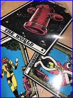 Original Ray Barbee Tarot Skateboard Deck. In Shrink. Powell Peralta