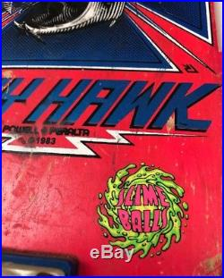 Original Vintage 1983 Tony Hawk Complete Powell Peralta Skateboard