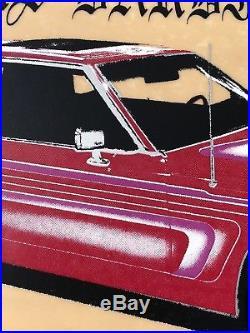 Original Vintage 1991 Sal Barbier Rare H Street Slick Bottom Skateboard Deck NOS