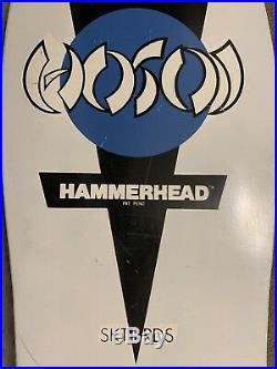 Original Vintage NOS 80s Christian HOSOI HammerHead Skateboard Deck RARE