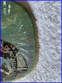 Original Vintage Tony Hawk Medallion Skateboard deck Powell Peralta Autographed