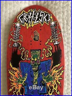Original Vision Groholski Frankenstein NOS Vintage Skateboard Deck 1990 Gonz