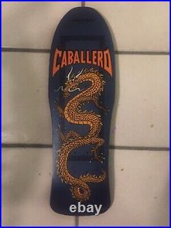 Powell Peralta 1987 Caballero Mini Bonite XT Vintage Original Nos NOT A Re-pop