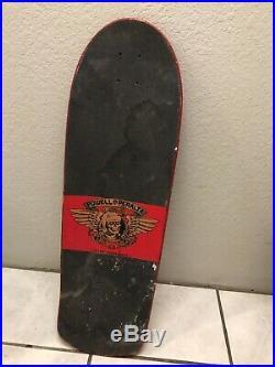 Powell Peralta Christmas Deck Skateboard Vtg Santa Cruz Vtg Thrasher 80s