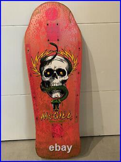 Powell Peralta Mike McGill OG Original Skateboard 80s Vintage Skull Snake