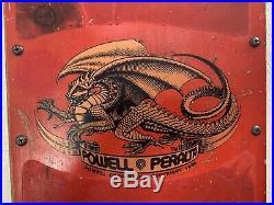 Powell Peralta Mike McGill Skateboard 1984 NOS 10x32 With Trucks, Nosebone, Wheels
