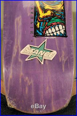 Powell Peralta NOS Lance Conklin Face. Color, Purple