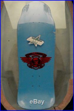 Powell Peralta NOS Tony Hawk Skull Second defect second. Color, Blue