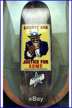 Powell Peralta NOS Uncle Sam Liberty & Justice Color, Grey