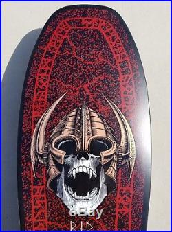 Powell Peralta Per Welinder Nordic Skull NOS vintage rare OG skateboard deck