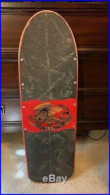 Powell Peralta Skull And Sword Old School Vintage OG Skateboard Santa Cruz Hosoi