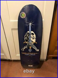 Powell Peralta Skull & Sword Skateboard Deck (New in the Plastic)
