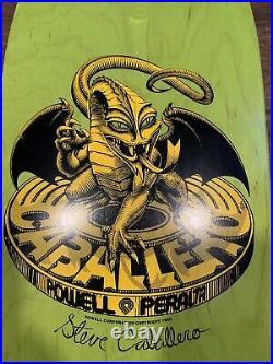 Powell Peralta Steve Caballero Bearing Dragon Re-Issue Deck