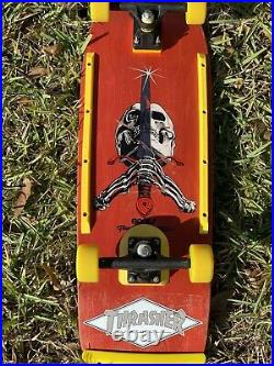 Powell Peralta Sword & Skull OG Vintage Skateboard Ray Bones Tony Hawk