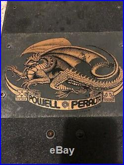 Powell Peralta Tommy Guerrero Skateboard Original 1980s Vintage, Tracker Trucks
