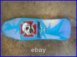 Powell Peralta Tony Hawk XT Blue Vintage Skateboard! Free shipping