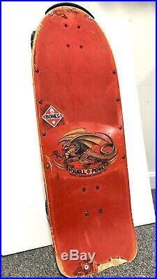Powell Peralta Vintage 1984 Skateboard Mike McGill Skull & Snake OG Bones Nose