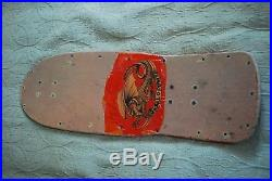 Powell Peralta Vintage Steve Steadham Skateboard Autographed