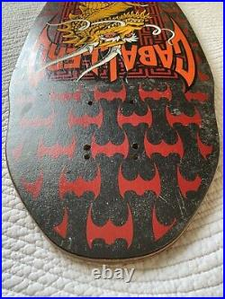 Powell Peralta skateboard Deck Caballero Vintage 1987 Hawk Mountain Mcgill