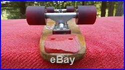 Pure Juice Sims Skateboard 1976 Vtg All Original Wood Deck Wheels Tracker Trucks