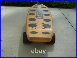 RARE! 70's Logan Earth Ski BRAD LOGAN skateboard, vintage complete & original