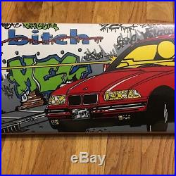 RARE NOS 1994 Bitch Skateboards Drive By Deck Girl World Industries 101 Blind