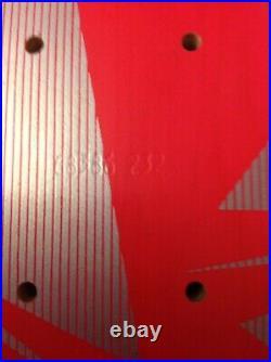 RARE TONY HAWK POWELL PERALTA BONES BRIGADE SERIES 6 NEON PINK SKATEBOARD WithCARD