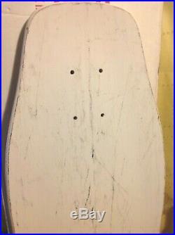RARE Vintage 80's NOS Skull Skates Ken McGuire Designs Sexy Girl Skateboard Deck