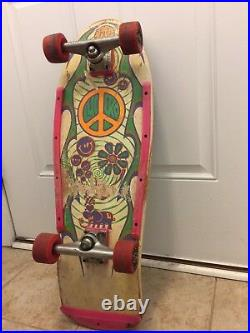 RARE Vintage John Lucero Street Thing Skateboard 1980's