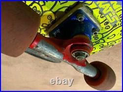 RARE! Vintage Skateboard Skull Skates Mutant 1986