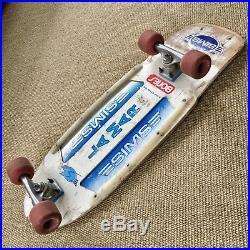 Rare 1979 vintage complete skateboard Sims LaMar / Tracker trucks / Bones