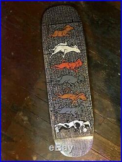 Rare 1991 World Industries Rodney Mullen 7 Dogs (Dancing Dogs) Skateboard Deck