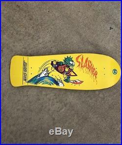Rare 2008 Santa Cruz Keith Meek Slasher Skateboard only 400 were made